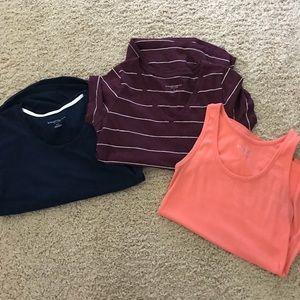 Liz Lange maternity shirt lot